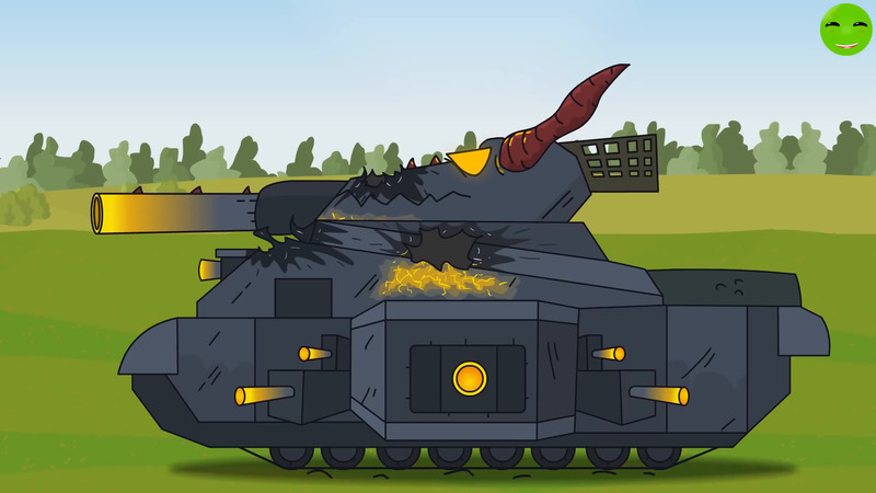 Soviet Monsters Cartoons about Tanks