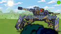 Robo Monster strides - Cartoons about tanks